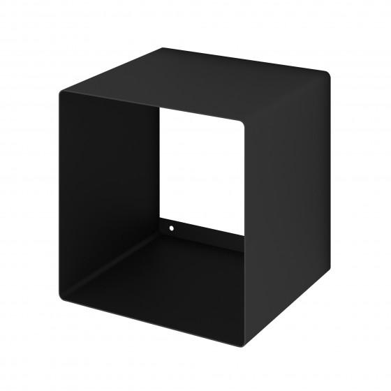 Mensola Design Cubo da Parete Square Nera