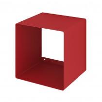 Mensola Design Cubo da Parete Square Rossa