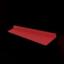 Mensola Design Flag Rossa DX XLarge 90 cm