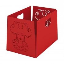 Porta riviste Marybox - Rosso