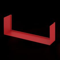 Mensola Design Bull Rossa XLarge 90cm