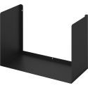 Mensola di design nera Bull