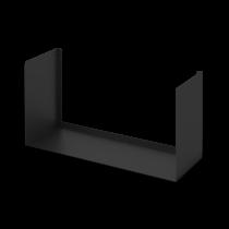 Mensola Design Bull Nera Large 60cm