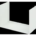 Mensola di design bianca Bull